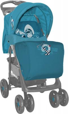Детская прогулочная коляска Lorelli Foxy (Green-Gray Kids) - чехол для ног (цвет Blue Captain)
