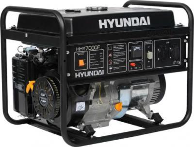 Бензиновый генератор Hyundai HHY7000F - общий вид