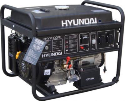 Бензиновый генератор Hyundai HHY7000FE - общий вид