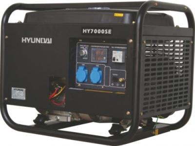Бензиновый генератор Hyundai HY7000SE - общий вид