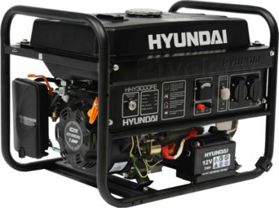 Бензиновый генератор Hyundai HHY3000FE - общий вид