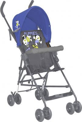 Детская прогулочная коляска Lorelli Light Blue-Gray Puppies (10020471459) - общий вид