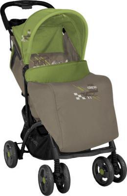 Детская прогулочная коляска Lorelli Smarty (Caramel Green Pilot) - чехол для ног