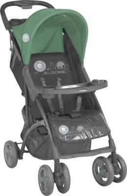 Детская прогулочная коляска Lorelli Smarty (Gray Green B-Zone) - общий вид