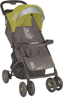 Детская прогулочная коляска Lorelli Smarty (Beige-Green Beloved Baby) - общий вид