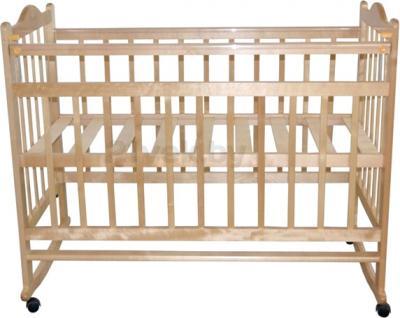 Детская кроватка Эстель 1 (Светлая) - общий вид