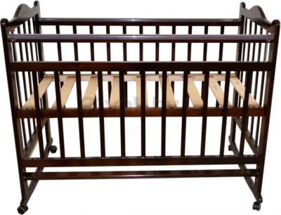 Детская кроватка Эстель 1 (темный) - общий вид