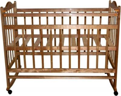 Детская кроватка Эстель 1 (орех) - общий вид