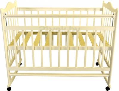 Детская кроватка Эстель 1 (слоновая кость) - общий вид