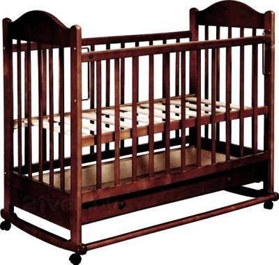 Детская кроватка Эстель 7 (темный) - общий вид