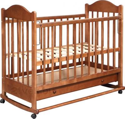 Детская кроватка Эстель 7 (Орех) - общий вид
