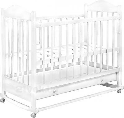 Детская кроватка Эстель 7 (Белая) - общий вид