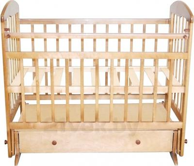 Детская кроватка Эстель 8 (светлый) - общий вид