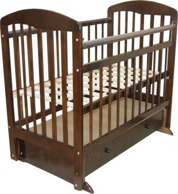 Детская кроватка Эстель 8 (Темная) - общий вид