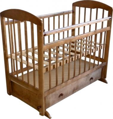 Детская кроватка Эстель 8 (орех) - общий вид