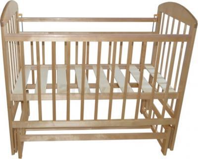 Детская кроватка Эстель 9 (светлый) - общий вид