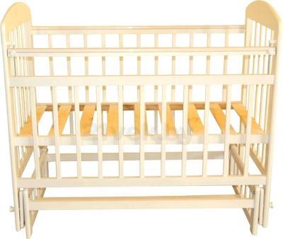 Детская кроватка Эстель 9 (слоновая кость) - общий вид