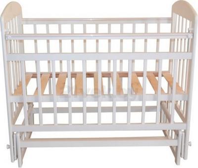 Детская кроватка Эстель 9 (белый) - общий вид