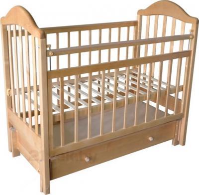 Детская кроватка Эстель 10 (светлый) - общий вид