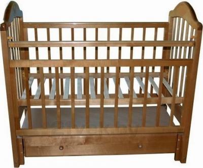 Детская кроватка Эстель 10 (орех) - общий вид