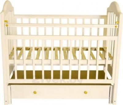 Детская кроватка Эстель 10 (слоновая кость) - общий вид