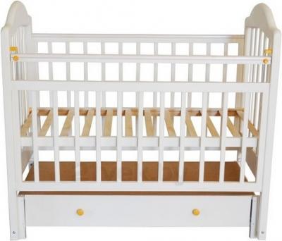 Детская кроватка Эстель 10 (Белая) - общий вид