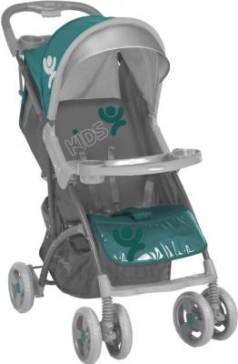 Детская прогулочная коляска Lorelli Smarty (Gray-Green Kids) - общий вид