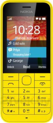 Мобильный телефон Nokia 220 (желтый) - общий вид