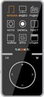 MP3-плеер TeXet T-47 (8Gb, черный) -