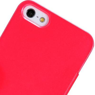 Чехол-флип Nillkin V-series Red (для Apple Iphone 4/4S) - вид сзади