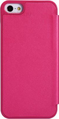 Чехол для телефона Nillkin Sparkle Rose Red (для Apple Iphone 5/5S) - вид сзади