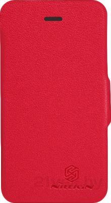 Чехол-флип Nillkin Fresh Series Red (для Apple Iphone 4/4S) - общий вид