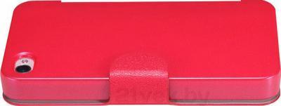 Чехол-флип Nillkin Fresh Series Red (для Apple Iphone 4/4S) - вид сбоку