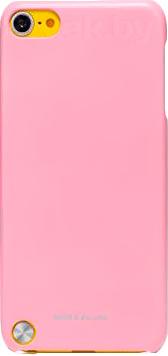 Задняя крышка Nillkin Multi-Color Pink (для Apple iPod Touch 5) - общий вид на телефоне