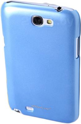 Чехол для телефона Nillkin Multi-Color Blue (для Samsung Galaxy Note2/N7100) - вид сверху