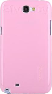 Задняя крышка Nillkin Multi-Color Pink (для Samsung Galaxy Note2/N7100) - общий вид на телефоне