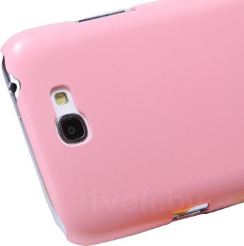 Задняя крышка Nillkin Multi-Color Pink (для Samsung Galaxy Note2/N7100) - разъем для камеры