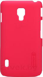 Задняя крышка Nillkin Super Frosted Bright Red (для LG Optimus L7 II/P715) - общий вид