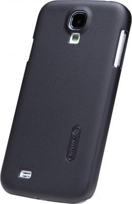 Задняя крышка Nillkin Super Frosted Black (для Samsung Galaxy S4/I9500) - общий вид на телефоне
