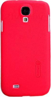 Чехол для телефона Nillkin Super Frosted Bright Red (для Samsung Galaxy S4/I9500) - общий вид на телефоне