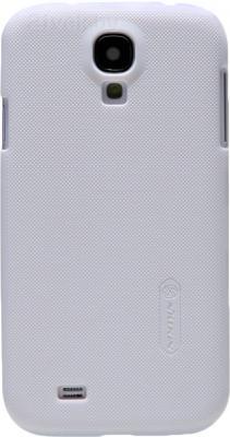 Задняя крышка Nillkin Super Frosted White (для Samsung Galaxy S4/I9500) - общий вид на телефоне