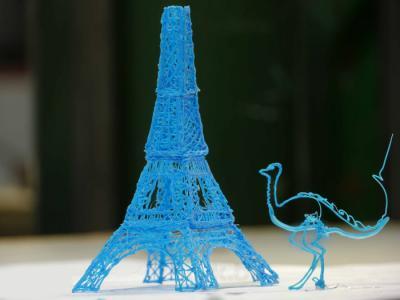 Ручка для 3D-печати WobbleWorks 3Doodler - примеры работ