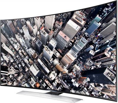 Телевизор Samsung UE55HU9000T - вполоборота