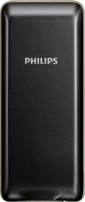 Мобильный телефон Philips Xenium X1560 (черный) - задняя панель