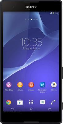 Смартфон Sony Xperia T2 Ultra / D5303 (черный) - общий вид