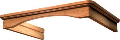 Комплект багетов для вытяжки KRONAsteel CPB/G1/1 (Light Oak) - общий вид (цвет уточняйте при заказе)