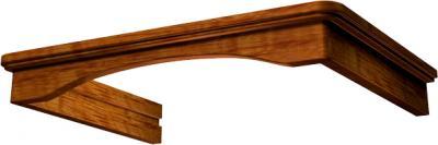 Комплект багетов для вытяжки KRONAsteel CPB/G1/2 (Dark Oak) - общий вид (цвет уточняйте при заказе)