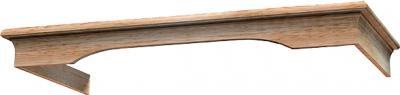 Комплект багетов для вытяжки KRONAsteel CPB/0 (Unpainted) - общий вид