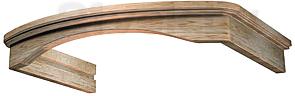 Комплект багетов для вытяжки KRONAsteel Gretta 60 CPB/0 (Unpainted) - общий вид