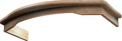 Комплект багетов для вытяжки KRONAsteel Gretta 900 CPB/0 (Unpainted) - общий вид